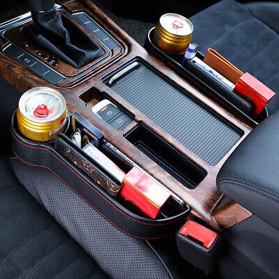 Multifunctional Car Seat Gap Pocket Catcher Organizer Leak-Proof Storage Bag Box