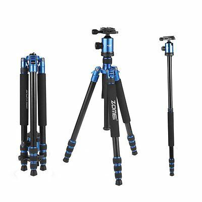 Z818 Professional Portable Tripod Monopod&Ball Head stand for Canon DSLR Camera