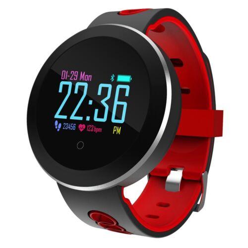 Heart Rate Pedometer Monitoring Smart Watch Activity Fitness Tracker Waterproof