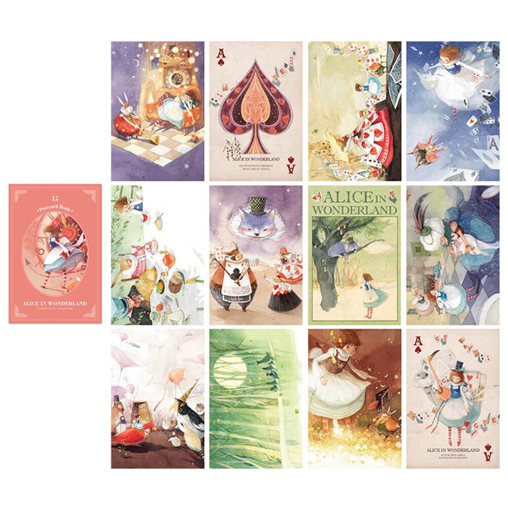 Почтовые открытки алиса в стране чудес