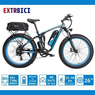Bicicleta de montaña eléctrica Extrici® XF800 1000W 48V 13A