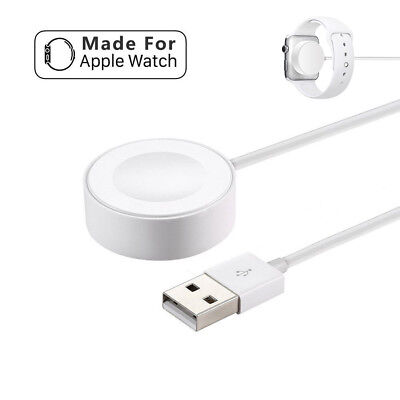 1M Wireless Magnetic Charger Charging Cable For Apple Watch iWatch Series 2/3
