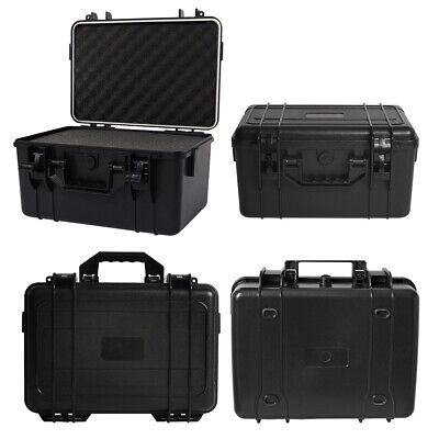 Protective Equipment Hard Carry Case Camera ABS Storage Box w/ Removable Foam