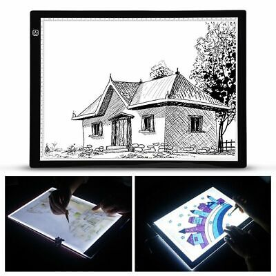 A3 80 LED Tracer Board Light Box Art Tracing Drawing Copy Plate Table Tattoo USB