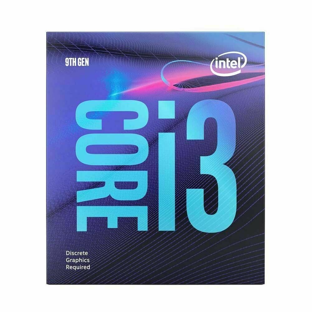 Intel Core i3-9100F 4-Core 3.6 Ghz  Processor BX80684I39100F