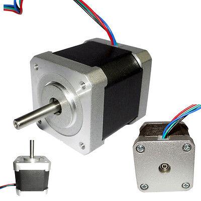 42mm 1.8degree Nema17 2phase 4-wire Stepper Motor For 3d Printer Cnc Robot Tool