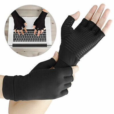 Compression Finger Support Joint Pain Relief Arthritis Therapy Gloves Mgic Health & Beauty
