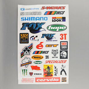 Personality BMX MTB Bike Cycling Bicycle Skateboard Decal Cool Stickers Sticker