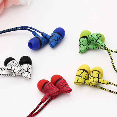 Earphone Wired Super Bass Microphone Hands Free Headphone for Phone MP3 New Tren