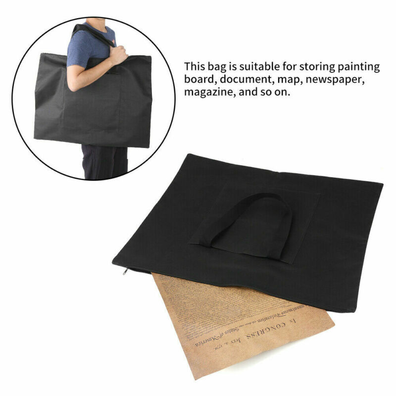 A2 Portfolio Waterproof Document Carry Case Art Work Painting File Foldable Bag