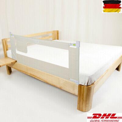Bettschutzgitter Rausfallschutz Bettgitter Baby Kinder Bettrailing 2m*68cm NO1