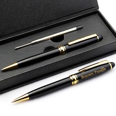 Free Engraving - Roller Ball Pen Ballpoint Pen Refill Pen Gift For Men Women