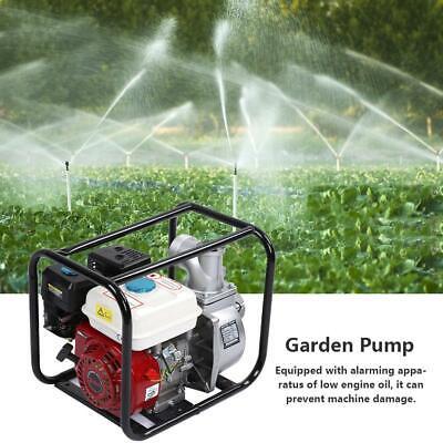 3 Inch Petrol Gasoline Water Transfer Pump 6.5hp 8m Garden Irrigation
