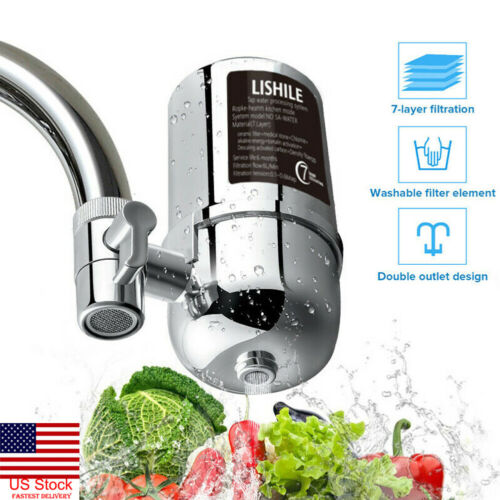 Tap Faucet Water Filter Purifier System Kitchen Faucet Mount