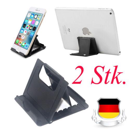 2x Universal Smartphone Tisch Halter Pad Handy Ständer für iphone Samsung Ipad