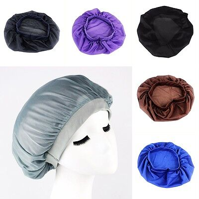 Hat Sale Pure Silk Night Cap For Long Curly Hair Care Scarve Bonnet Sleeping New