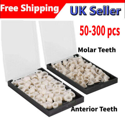 Ultra-thin Dental Resin Teeth Temporary Crown Tooth Veneers Whitening 50-300pcs