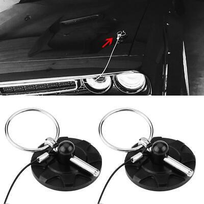 1 Pair CNC Billet Aluminum Racing Bonnet Hood Pin Latch Lock Kit Fitting covid 19 (2004 Mustang Hood Pin coronavirus)