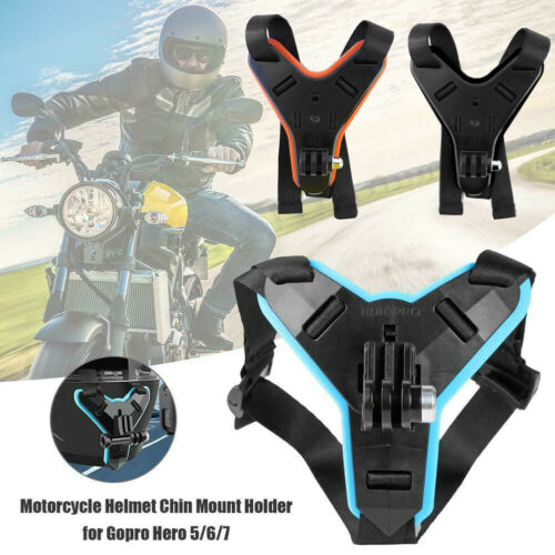 Motorcycle Helmet Front Chin Mount Holder For Gopro Hero 7 6