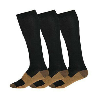 Copper Infused Compression Socks 20-30mmHg Graduated Men's Women's S-XXL Welcome Health & Beauty