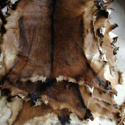 Deerskin Decor Area Rug Deer Hide Rug Household Rug Fireplace Animals Taxidermy