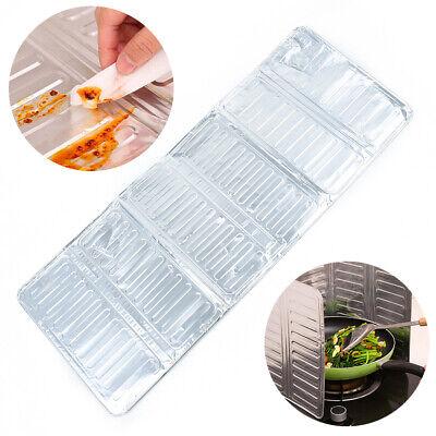 Aluminio Cocina Aceite Salpicadura Protector Gas Estufa Removedor Quemadura