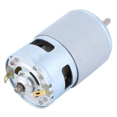 775 High Power Micro Dc Motor Ball Bearing Shaft Low Noise 12v 0.32a 60w 4000rpm