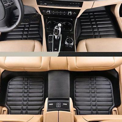 Black Floor Mats For BMW X3 2003 2010 Front  Rear Liner Carpets Waterproof US