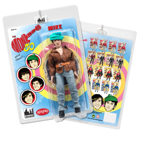 The Monkees 8 Inch Retro Action Figure Variants: Hippie Mike Nesmith