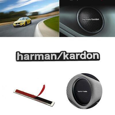Алюминиевый Автомобиль Harman Kardon Badge Эмблема Наклейка Для Авто BMW Benz Динамик Декор