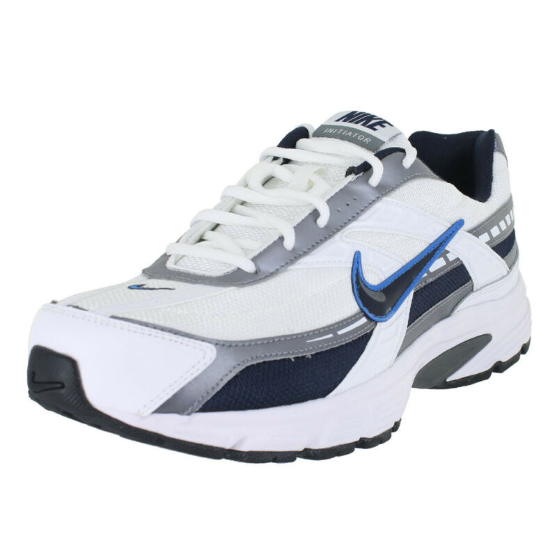 6c9487c672c NIKE INITIATOR WIDE WIDTH WHITE OBSIDIAN GRAY 395662-101 MENS US SIZES