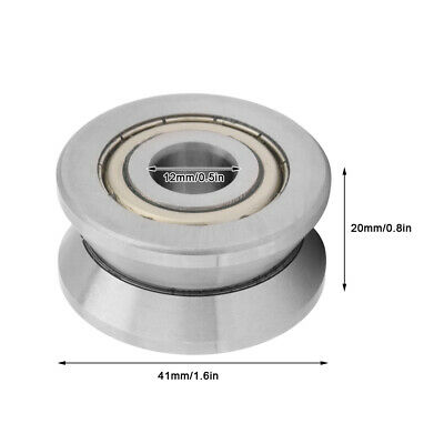 Waterproof V-groove Bearing Track V-groove Bearings Rugged Equipment Textile