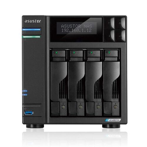 Asustor AS6604T 4Bay NAS Intel Gemini Lake -Refresh Quad-Core 4GB DDR4 SODIMM