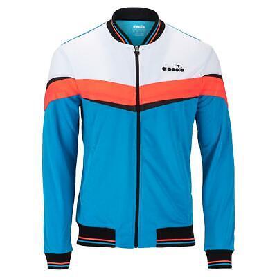 Diadora Men`s Full Zip Tennis Jacket (  LARGE ) Diadora Tennis Apparel
