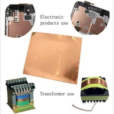 Guitarra Eléctrica Cobre Aluminio Cinta Auto-Adhesivo Emi Protección 30cm 20cm