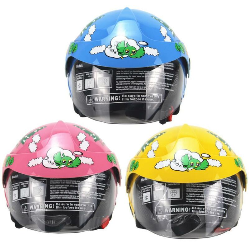 Children/'s Motorcycle Helmet Bike Motor Safety Warm Comfortable For AGE 2-8 Cute