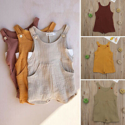 Hot Sale Toddler Kid Baby Girl Clothes Romper Cotton Overalls Jumpsuit Bodysuit