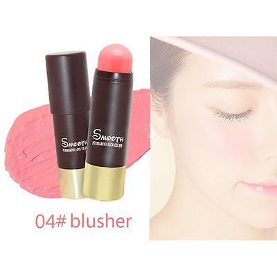 Textmarker Stick Schimmer Pulver Creme Langlebige Erröten Make-up Rouge 4 # KS