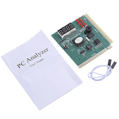 Hot 4-Digit Analyzer Diagnostic Motherboard POST Card Tester Computer PC PCI ISA