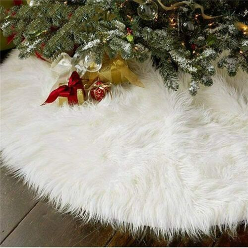 Christmas Tree Plush Skirt Decoration for Merry Christmas Party