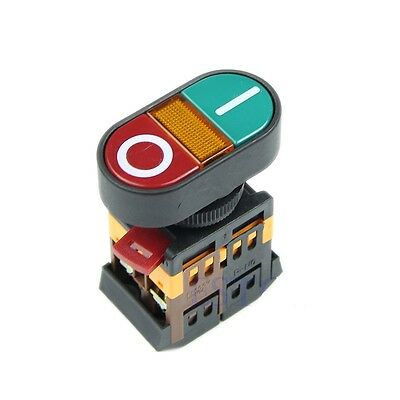 Start Stop -- On Off -- Momentary Industrial Control Switch - Ac Dc