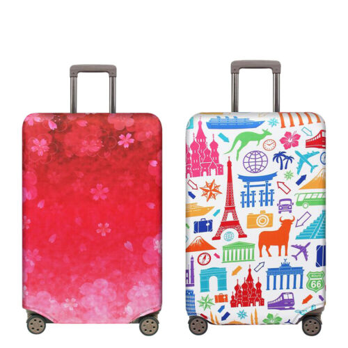 "18""-32"" Travel Protective Luggage Suitcase Dust Cover Bag Pr"