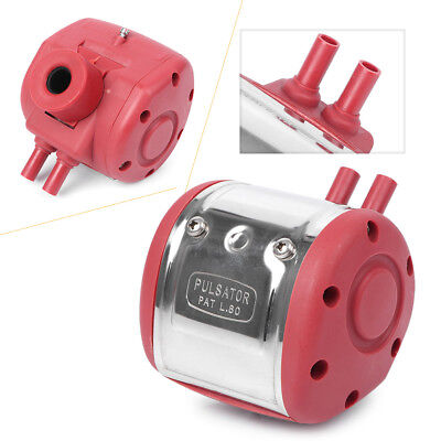 Red Milking Machine Pulsator Milker Pneumatic Pulsator For Cow Goat Milker