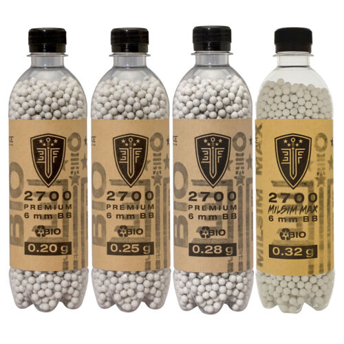 ELITE FORCE 6mm Biodegradable Airsoft Bio BB 2700ct. Bottle