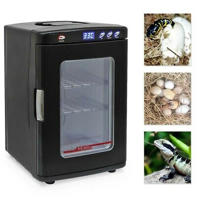 Reptile Egg Incubator Turtle Hatching Lizard Snake Tortoise Automatic Blue Light