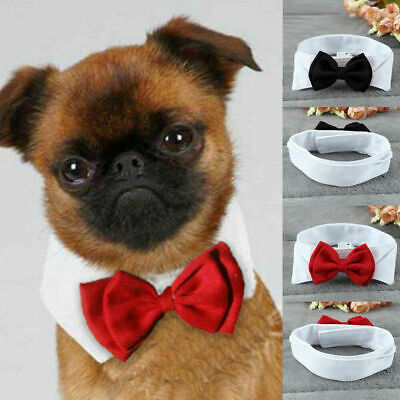US Fashion Adjustable Bow Tie-Collar Necktie Bowknot Clothes For Pet Dog Cat New Dog Bow Tie