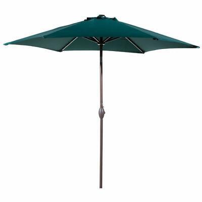 Abba Patio 9 Feet Round Patio Table Umbrella Crank Handle, Green (Open Box)