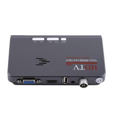 Digital HD HDMI DVB-T / T2 VGA TV-Tuner-Empfänger Konverter für LCD/CRT-Monitor (Tv-tuner Hdmi)