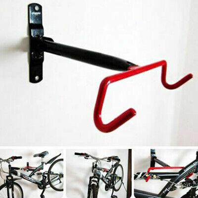 Nuevo Bicicleta Bici Ciclismo Soporte de Pared Gancho Percha Plegable Hierro