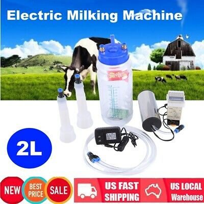 2l Electric Milking Machine With Pulse Controller Protable For Cow Sheep